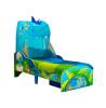 Cama Dinosaur para niños pequeños con almacenamiento y dosel más colchón con muelles