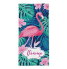 Serviette de plage Tropical Flamingo