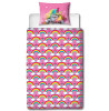 Trolls Dreams Single Panel Duvet Cover and Pillowcase Set
