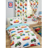 Trucks and Transport Single Duvet Cover Bedding Set