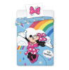 Minnie Mouse Rainbow Single Duvet Cover Set