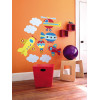 Wallies Big Murals Up, Up and Away Wall Stickers