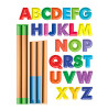 Wallies Chalkboard Easel and Alphabet Wall Sticker
