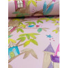 Woodland Fairies Glitter Wallpaper - Pink - Arthouse 667000