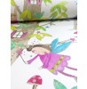 Arthouse Woodland Fairies Glitter Wallpaper - White - 667001
