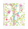 White Woodland Fairies Glitter Wallpaper - Arthouse 667001