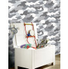 Camouflage Wallpaper Grey WOW010