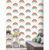 Wallpaper Rainbow Bianco e Multi - World of Wallpaper WOW041