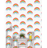 Kids Rainbow Wallpaper White and Multi - World of Wallpaper WOW041