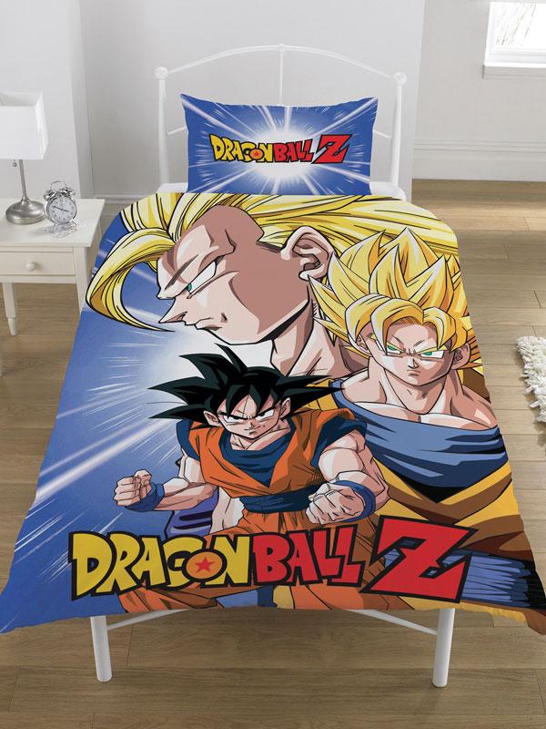 Dragon Ball Z Battle Single Duvet Cover and Pillowcase Set