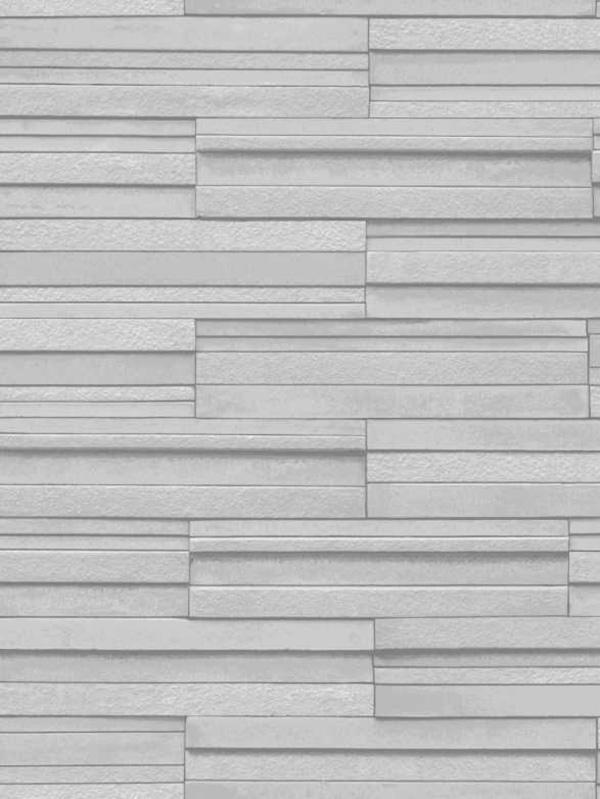 slate tile effect wallpaper pale grey fine decor fd40127