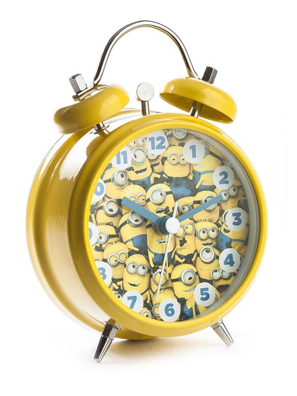 Despicable Me Minions Mini Twinbell Alarm Clock