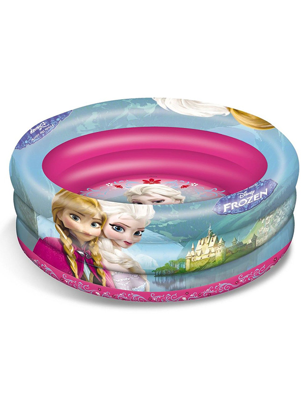 Disney Frozen Inflatable Three Ring Paddling and Ball Pool