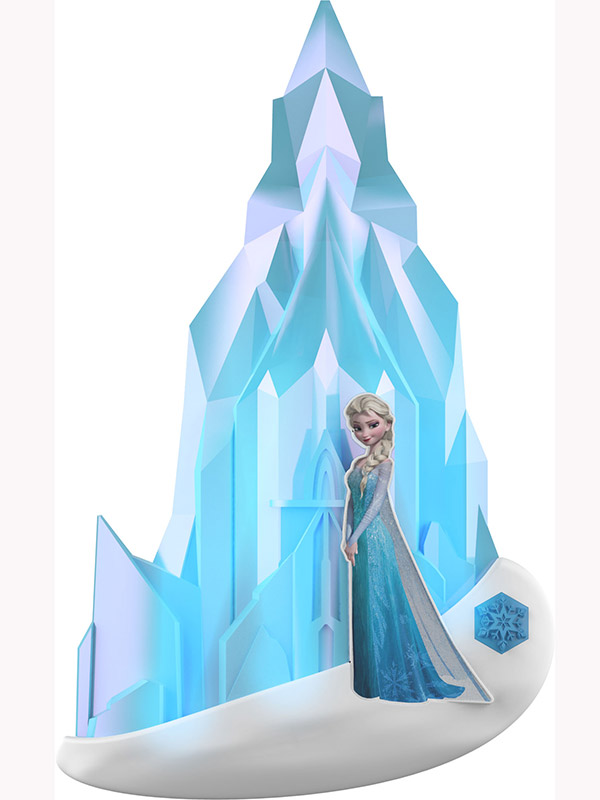 Disney Frozen Elsa 3D Wall Light