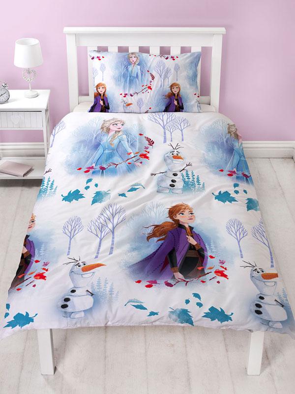 Disney Frozen 2 Element Single Duvet Cover Set