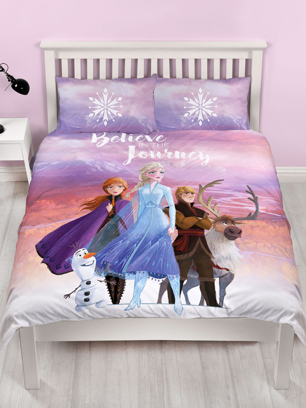 Disney Frozen 2 Journey Double Duvet Cover Set