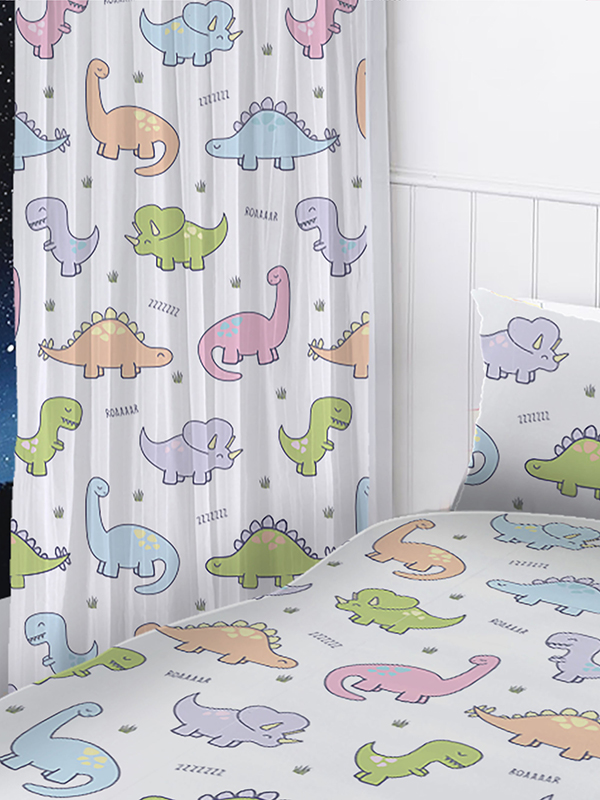 dinosaurs curtains