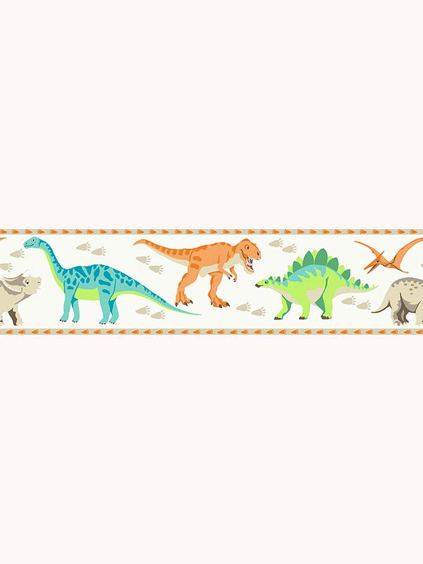 Price Right Home Dinosaur World Wallpaper Border A13101