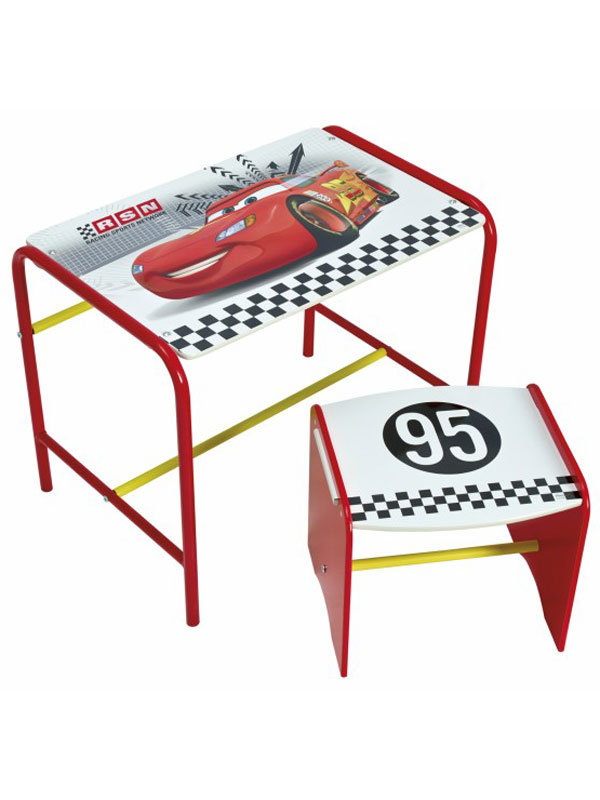 Disney Cars Doodle Desk and Stool