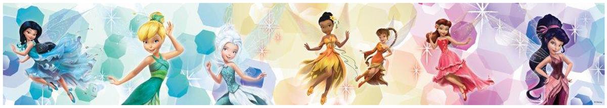 Disney Fairies Dancing Self Adhesive Wallpaper Border 5m