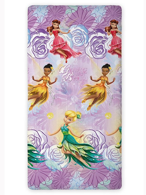 Disney Fairies Single Fitted Sheet