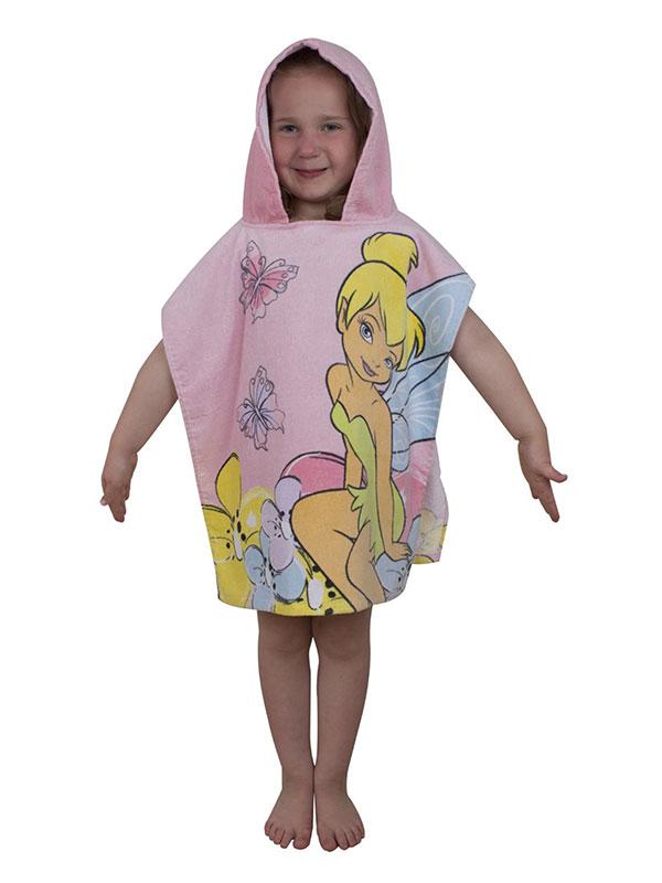 Disney Fairies Sweet Hooded Poncho Towel