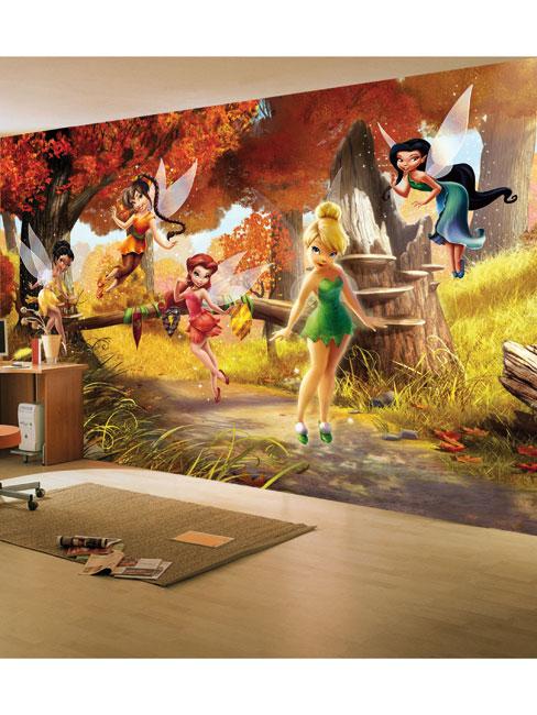 Disney Fairies Tinkerbell Friends Photo Wall Mural 360 x 254 cm