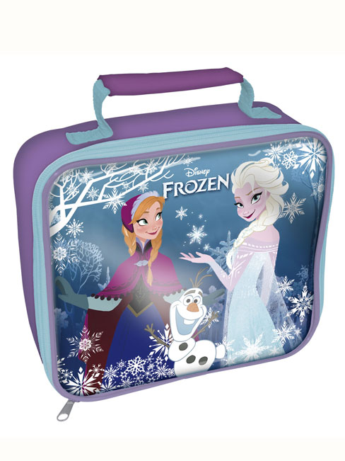 Disney Frozen Insulated Lunch Bag Purple