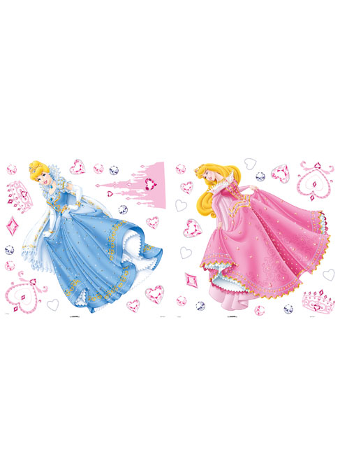 Disney Princess Figure Wall Stickers