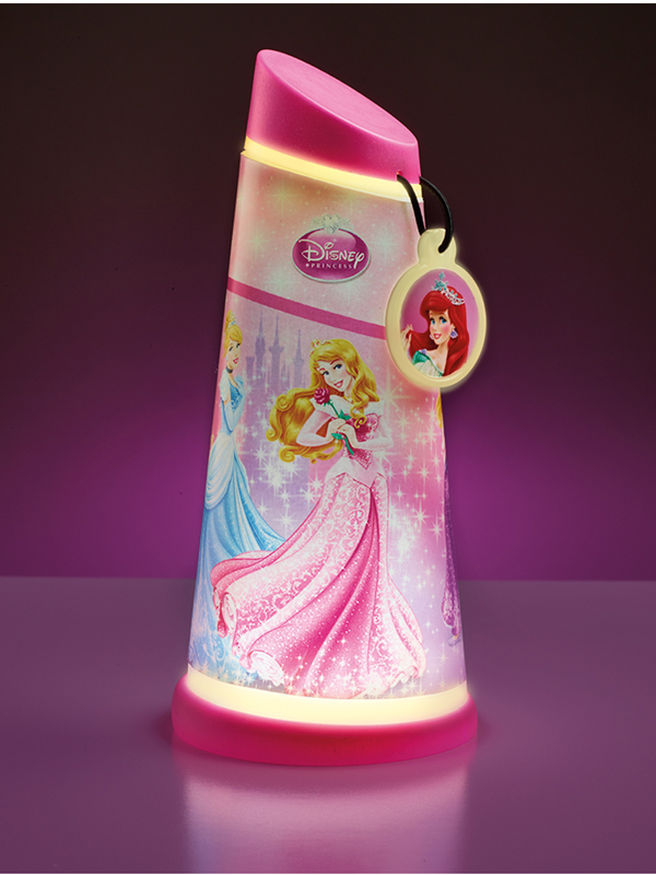 Disney Princess Go Glow Night Beam Tilt Torch Light