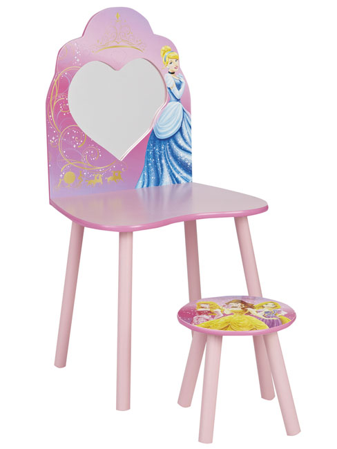 Disney Princess Vanity Dressing Table and Stool