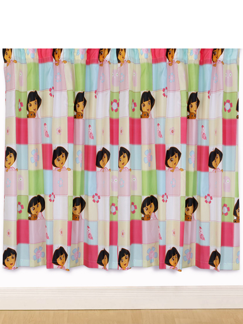 Dora The Explorer \'Buttons\' Curtains