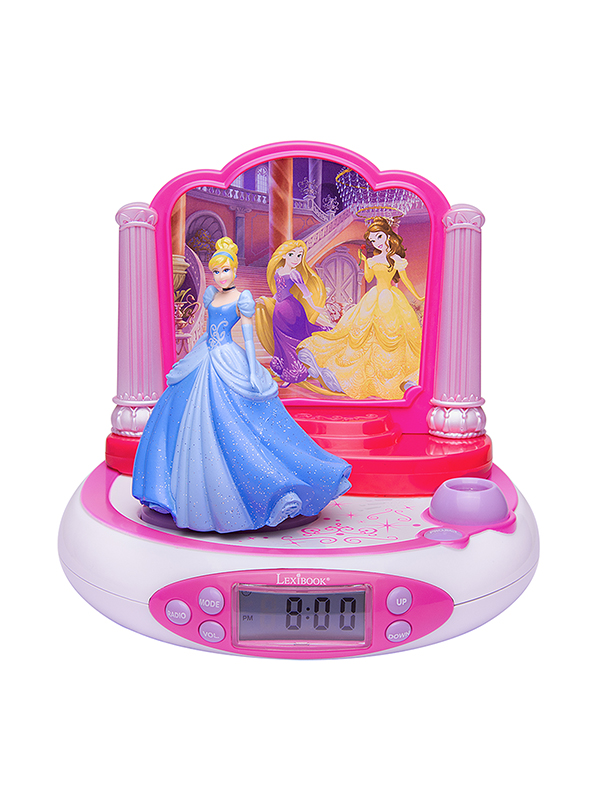 Disney Princess Radio Alarm Clock Projector