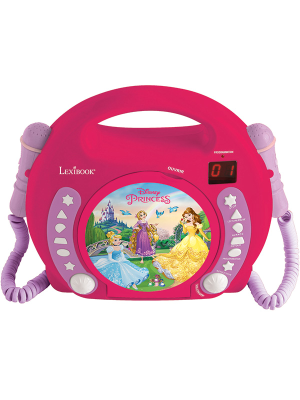 Disney Princess CD Player with Microphones