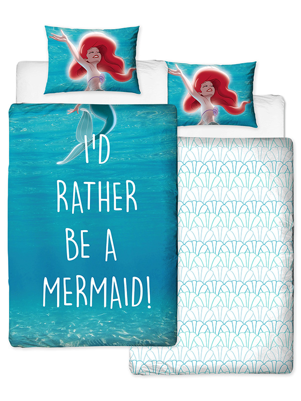 Disney Princess Ariel Little Mermaid £50 Bedroom Makeover Kit