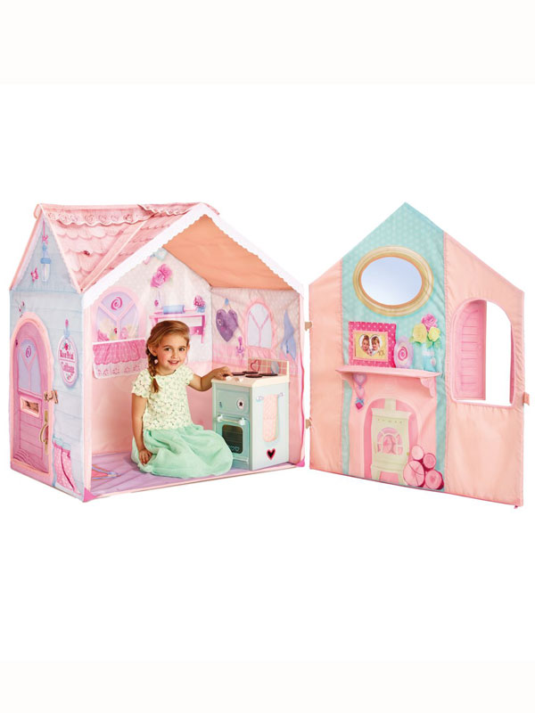 Dream Town Rose Petal Cottage Playset