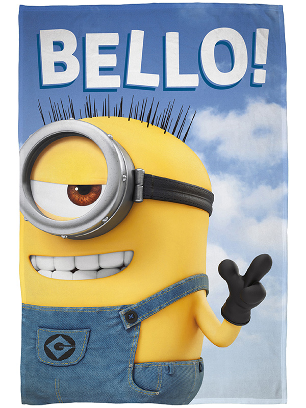 Despicable Me Minions Bello Fleece Blanket