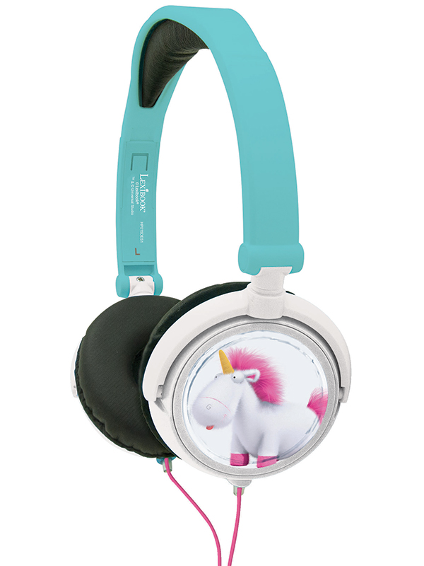 Despicable Me Fluffy Unicorn Stereo Headphones