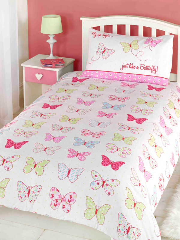 Fly Up High Butterfly Double Duvet Cover Set
