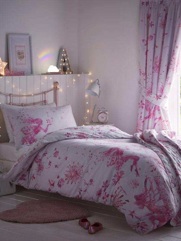 Fairy Princess Single Duvet Cover and Pillowcase Set