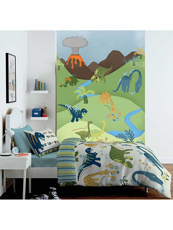Catherine Lansfield Dinosaur Mural 232cm x 158cm