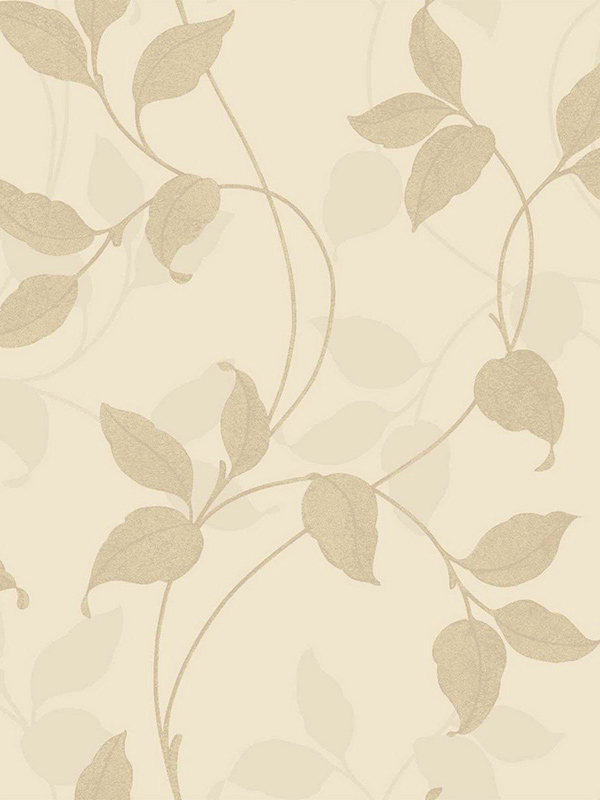 Home & Garden|Wallpaper|Arsenal London Capriata Floral Leaf Wallpaper Gold and Beige Arthouse 290302