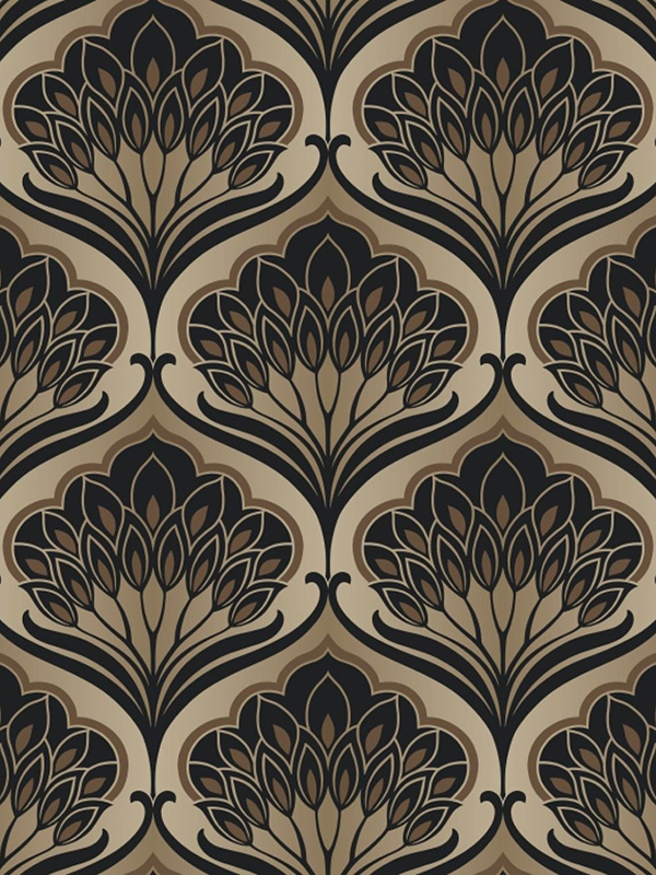 Price Right Home A Shade Wilder Pavonis Feather Wallpaper Macaroon 300079