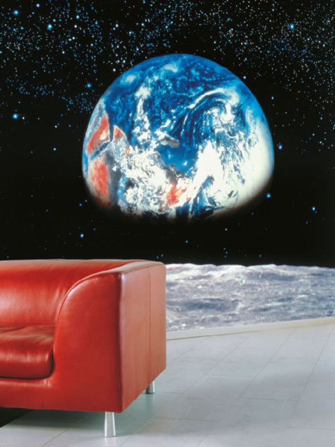 Earth From The Moon Photo Wall Mural 388 x 270 cm