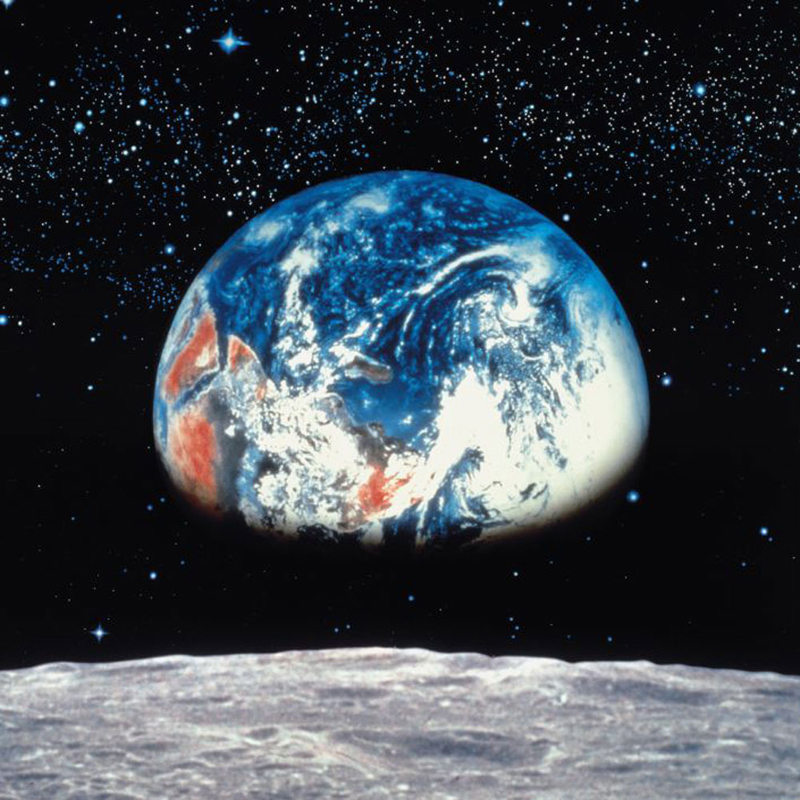 Price Right Home Earth From The Moon Photo Wall Mural 388 x 270 cm