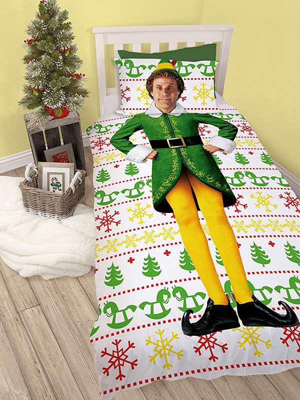 Buddy The Elf Single Duvet Cover and Pillowcase Set thumbnail