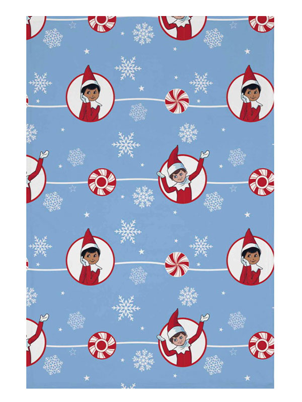 Elf On The Shelf Fleece Blanket