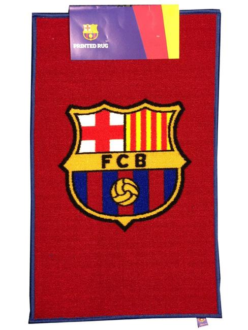 FC Barcelona Crest Floor Rug
