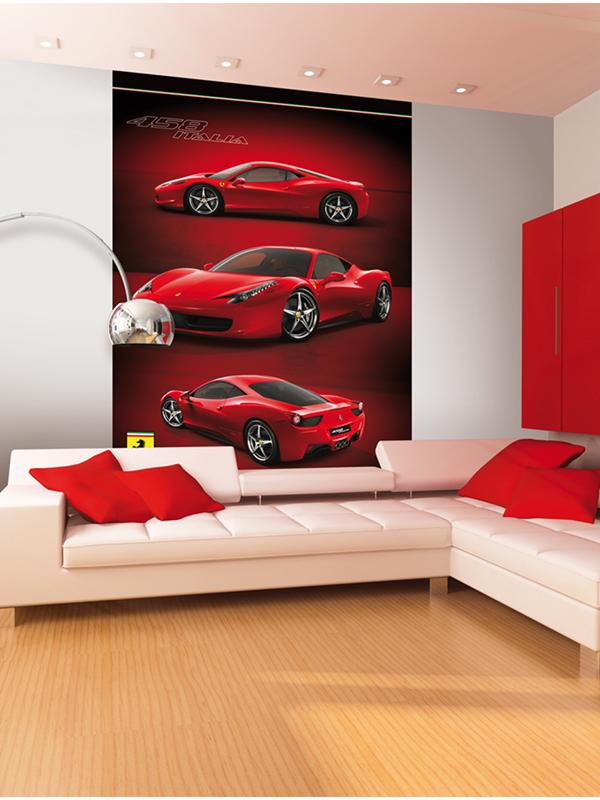 Ferrari Wall Mural 232m x 158m