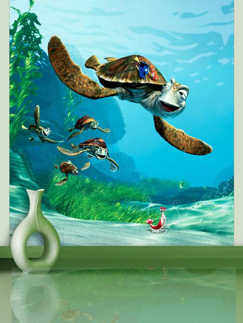 Finding Nemo Crush Wall Mural 180 x 202 cm